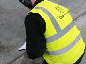 Industrial floor maintenance
