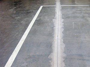 Floor joint arris repair