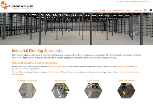 New CG Flooring Website
