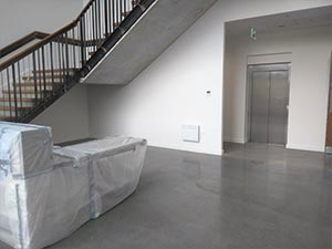 Enhanced Polished Concrete Floor