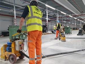 Corrective Warehouse Floor Grinding