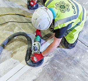 Concrete Joint Arris Repair