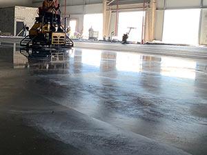 Power Floating Steel Reinforced Concrete Floor