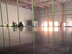 Concrete Warehouse Floor Design and Build - Agility Logistics, Kuwait - CoGri Middle East