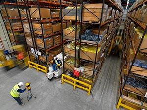Laser Grinding Warehouse Floor - Poland