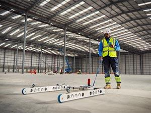 Robotics Floor Flatness Testing Profileograph