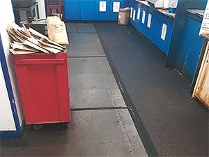 Floor Before Refurbishment