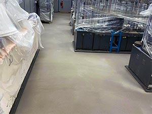 Laboratory Floor Upgrade and Refurbishment